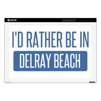 Estaría bastante en Delray Beach Portátil Skin