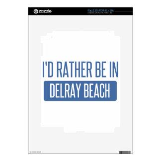 Estaría bastante en Delray Beach Skin Para El iPad 2