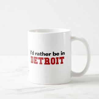 Estaría bastante en Detroit Taza De Café