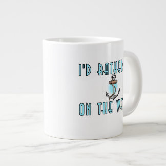 Estaría bastante en el agua taza de café gigante