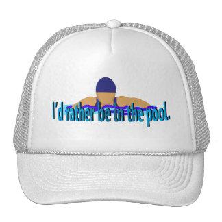 Estaría bastante en el casquillo de la piscina gorras