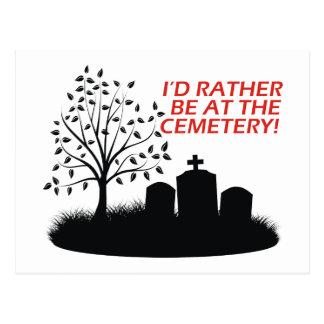 Estaría bastante en el cementerio postal