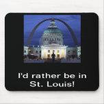 Estaría bastante en el cojín de St. Louis Tapete De Ratones