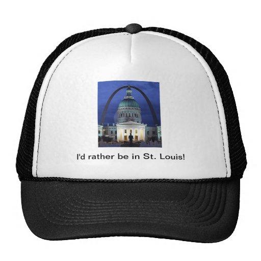 Estaría bastante en el gorra de St. Louis