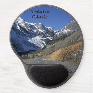 Estaría bastante en el mousepad de Colorado Alfombrilla De Ratón Con Gel