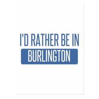 Estaría bastante en el VT de Burlington Tarjeta Postal