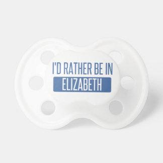 Estaría bastante en Elizabeth Chupetes