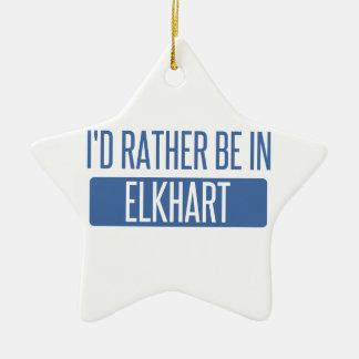 Estaría bastante en Elkhart Adorno Navideño De Cerámica En Forma De Estrella