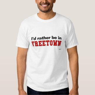Estaría bastante en Freetown Remeras
