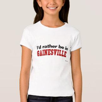 Estaría bastante en Gainesville Playera