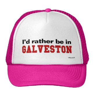 Estaría bastante en Galveston Gorros