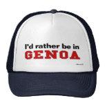 Estaría bastante en Génova Gorra