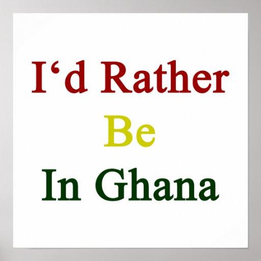 Estaría bastante en Ghana Poster