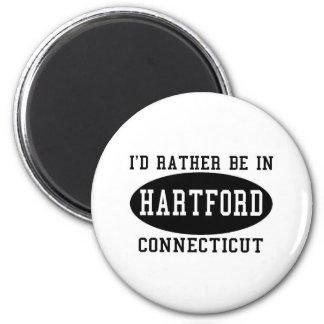 Estaría bastante en Hartford, Connecticut Imán Redondo 5 Cm