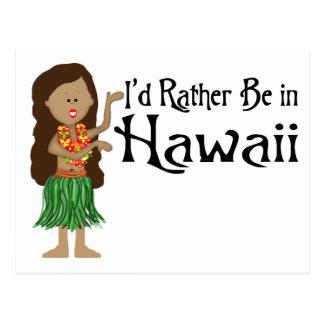 Estaría bastante en Hawaii Tarjetas Postales
