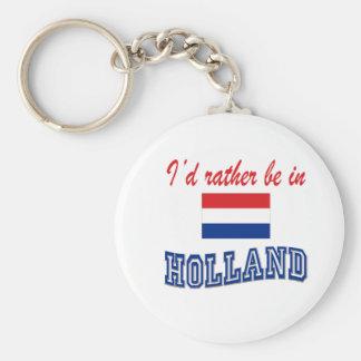 Estaría bastante en Holanda Llavero Redondo Tipo Pin