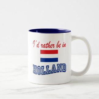Estaría bastante en Holanda Taza De Dos Tonos