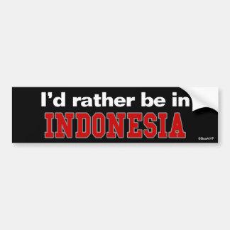 Estaría bastante en Indonesia Pegatina Para Auto