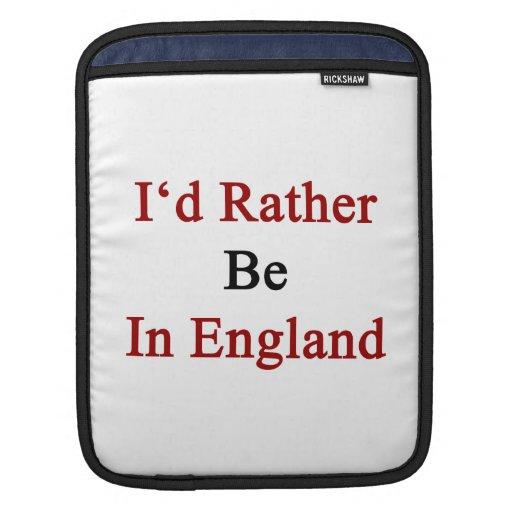 Estaría bastante en Inglaterra Funda Para iPads