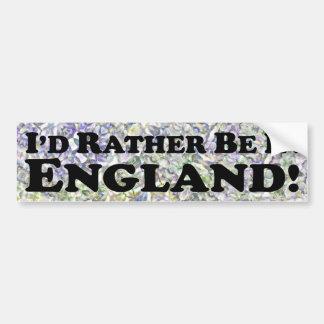 Estaría bastante en Inglaterra - pegatina para el  Pegatina Para Auto