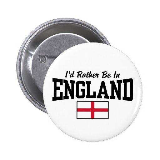 Estaría bastante en Inglaterra Pin Redondo De 2 Pulgadas