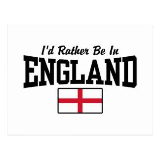 Estaría bastante en Inglaterra Postal