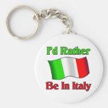 Estaría bastante en Italia Llavero Redondo Tipo Pin