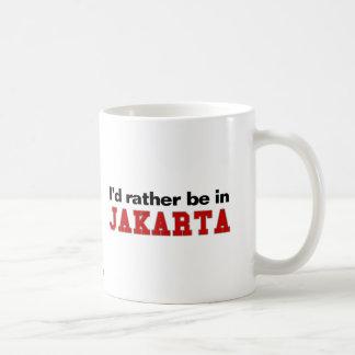Estaría bastante en Jakarta Taza Clásica