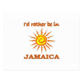Estaría bastante en Jamaica Tarjeta Postal