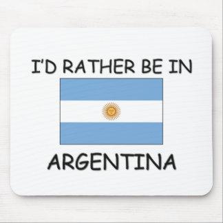 Estaría bastante en la Argentina Tapetes De Ratones