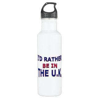Estaría bastante en la botella de agua BRITÁNICA