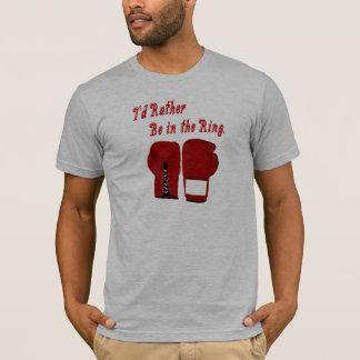 Estaría bastante en la camiseta del boxeo del