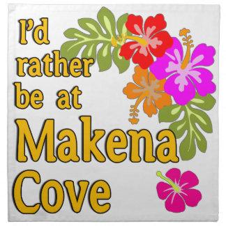 Estaría bastante en la ensenada Hawaii de Makena Servilletas