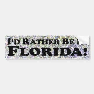 Estaría bastante en la Florida - pegatina para el  Pegatina Para Auto