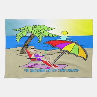 Estaría bastante en la playa - americano MoJo K de Toallas
