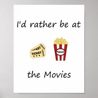 Estaría bastante en las películas posters