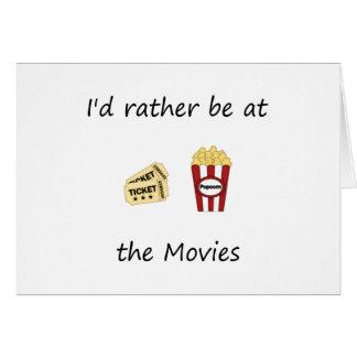 Estaría bastante en las películas tarjeta pequeña