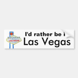 Estaría bastante en Las Vegas Pegatina Para Auto