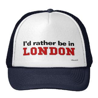 Estaría bastante en Londres Gorros Bordados