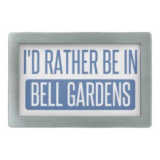 Estaría bastante en los jardines de Bell Hebillas De Cinturón Rectangulares