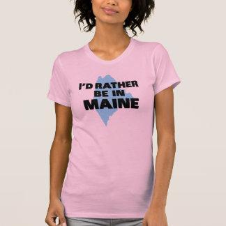 Estaría bastante en Maine Playera