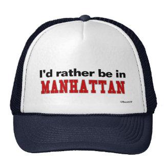 Estaría bastante en Manhattan Gorro