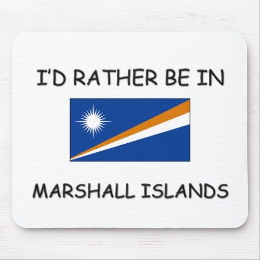 Estaría bastante en Marshall Islands Alfombrillas De Ratones