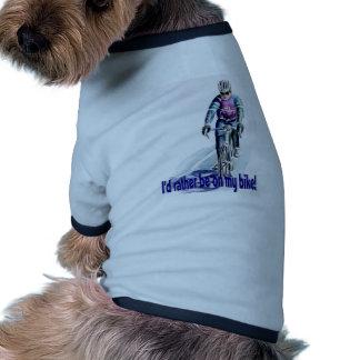 ¡Estaría bastante en mi bici! Camisetas Mascota