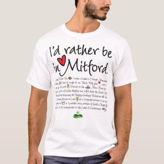 Estaría bastante en Mitford Playera