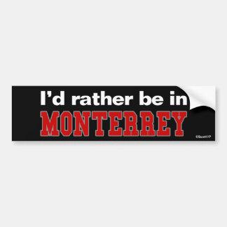 Estaría bastante en Monterrey Pegatina Para Auto