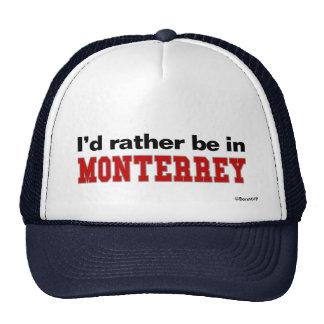 Estaría bastante en Monterrey Gorras