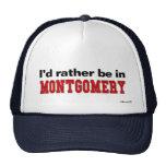 Estaría bastante en Montgomery Gorra