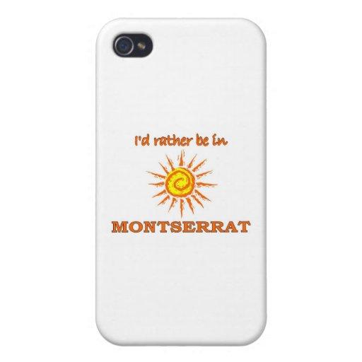 Estaría bastante en Montserrat iPhone 4/4S Funda