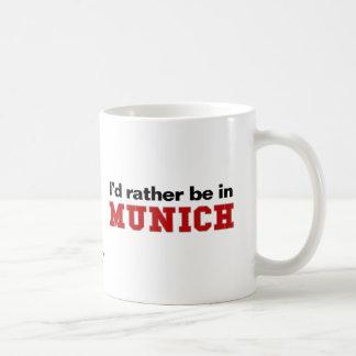 Estaría bastante en Munich Taza Básica Blanca